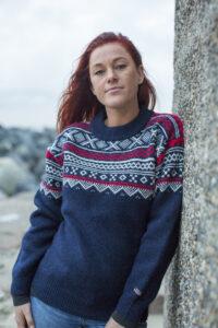 Norjalainen villapaita
