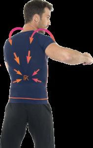 hållningskorrigerande skjorta